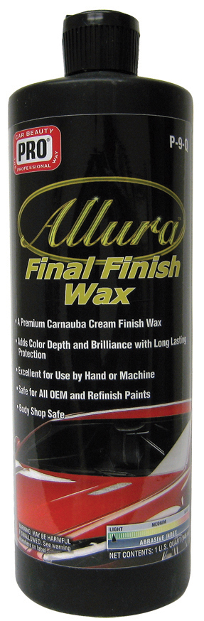 Allura Final Finish Wax
