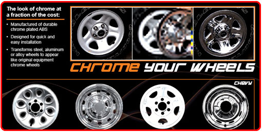 CHROME YOUR WHEELS